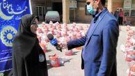 توزیع دو هزار و 500 بسته مواد غذایی در اجرای طرح پویش همدلی مومنانه بین مددجویان بهزیستی ایلام
