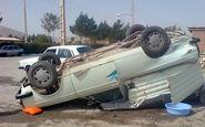 واژگونی خودرو در مراغه یک کشته و یک مجروح برجا گذاشت