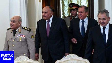 نشست ۲+۲ وزیران دفاع و خارجه روسیه و مصر در مسکو