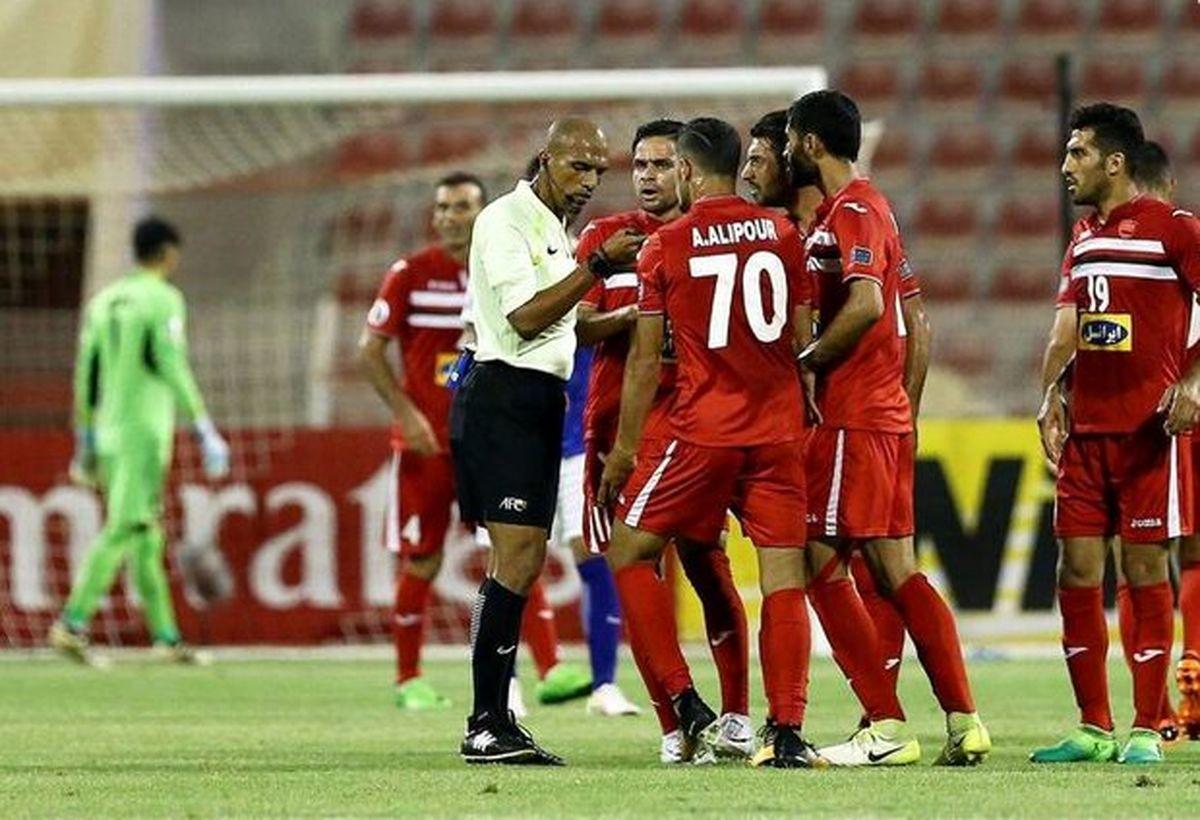 داور عمانی برای بازی ایران-کره