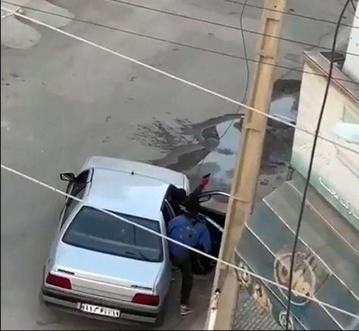 دستگیری عامل سرقت مسلحانه سیم برق در کرمانشاه