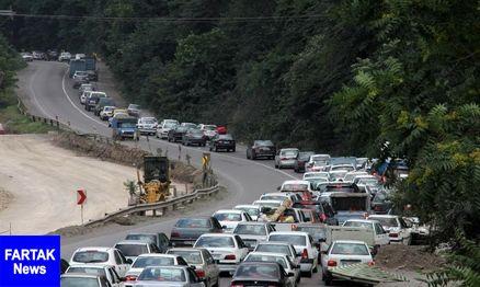 بدرقه مسافران تابستانی با ترافیک نیمه سنگین جادههای مازندران