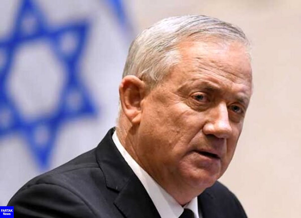 آمادگی گانتس برای دیدار فوری با رهبران فلسطینی