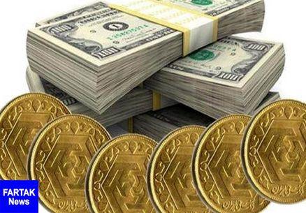 قیمت طلا، قیمت دلار، قیمت سکه و قیمت ارز امروز ۹۷/۰۲/۲۶