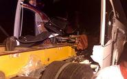 اتوبوس مسافربری دچار حادثه شد