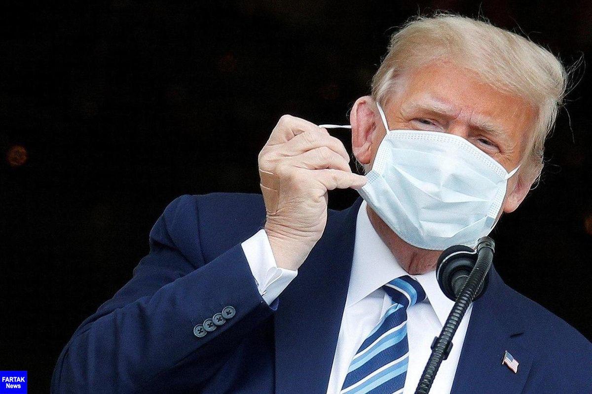 ترامپ: در برابر کرونا مصون شدهام