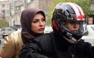 موتورسواری سحر قریشی در خیابان های تهران +عکس