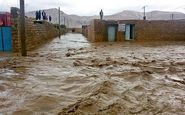 سیلاب و بارندگی راه ارتباطی ۱۰۰ روستای دلفان را قطع کرد