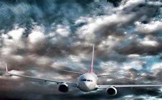 طوفانی که دماغه هواپیما را از روی زمین بلند کرد
