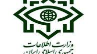 وزارت اطلاعات: دست پلید ناپاکان توسط جبهه مقاومت اسلامی قطع خواهد شد