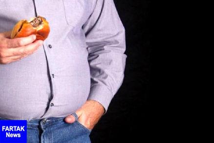 ۶۲ درصد مردم استان قزوین اضافه وزن دارند