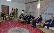 بررسی تحولات منطقه محور دیدار ظریف و رئیس جمهوری عراق