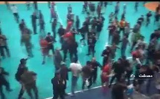 قمه کشی در لیگ برتر هندبال کشور! + فیلم