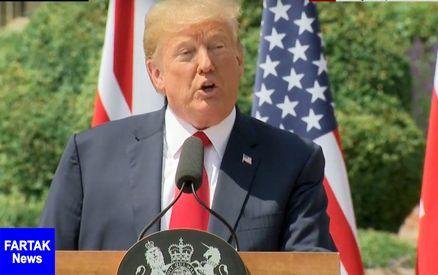 ترامپ: فشار برمردم ایران ادامه می یابد