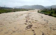 نجات ۸ نفر از سیلاب رودخانه بابلرود در روستای چاری بابل
