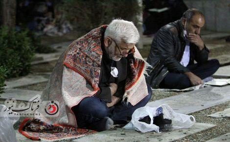 گزارش تصویری مراسم شب قدر در گلستان شهدای اصفهان