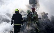 آتش سوزی در یکی از پاساژهای تهران