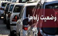 وضعیت ترافیک ایران امروز 14 اسفند 99