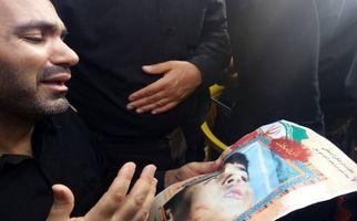 نالههای پدر شهید خردسال حادثه تروریستی اهواز +فیلم