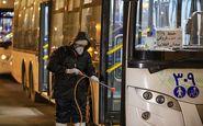 اتوبوسهای درونشهری قم بهصورت مستمر ضد عفونی میشود