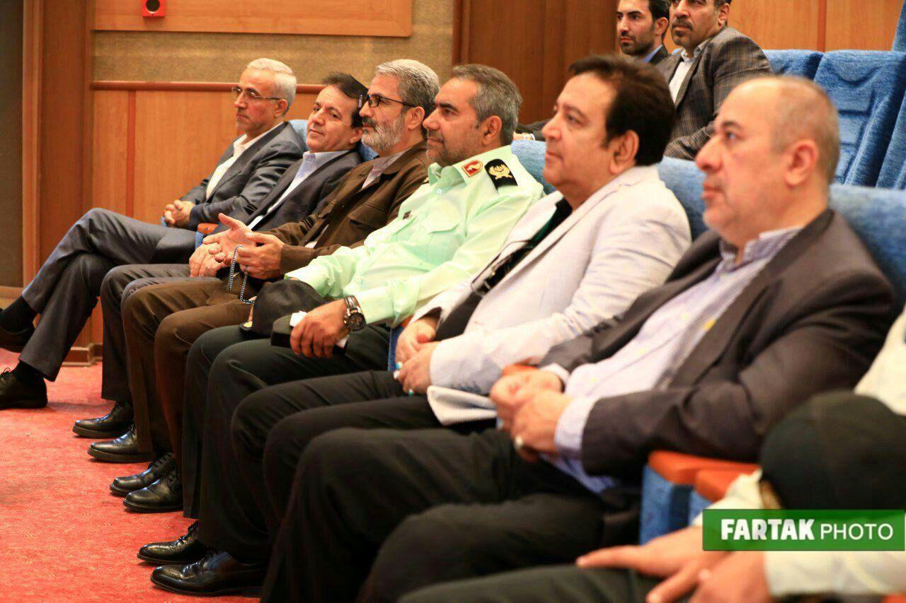 آیین تجلیل از آزادگان ناجا- محمود صلاحی