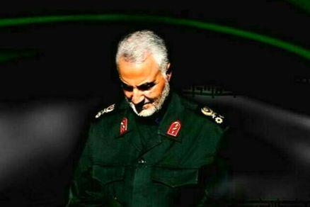 سردار سلیمانی در 300 متری صهیونیست ها! (عکس)