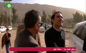حضور مهدی مهدوی کیا در سر پل ذهاب + فیلم