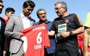 تمرین پرسپولیس با حضور فوق ستاره ورزش ایران