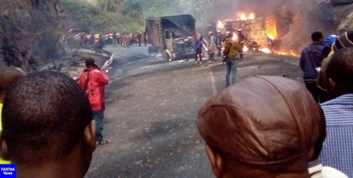 53 نفر در یک تصادف در کامرون جان خود را از دست دادند