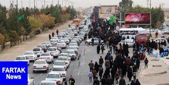 وضعیت ترافیکی محورهای منتهی به مرزهای چهارگانه در چهارشنبه 17 مهرماه