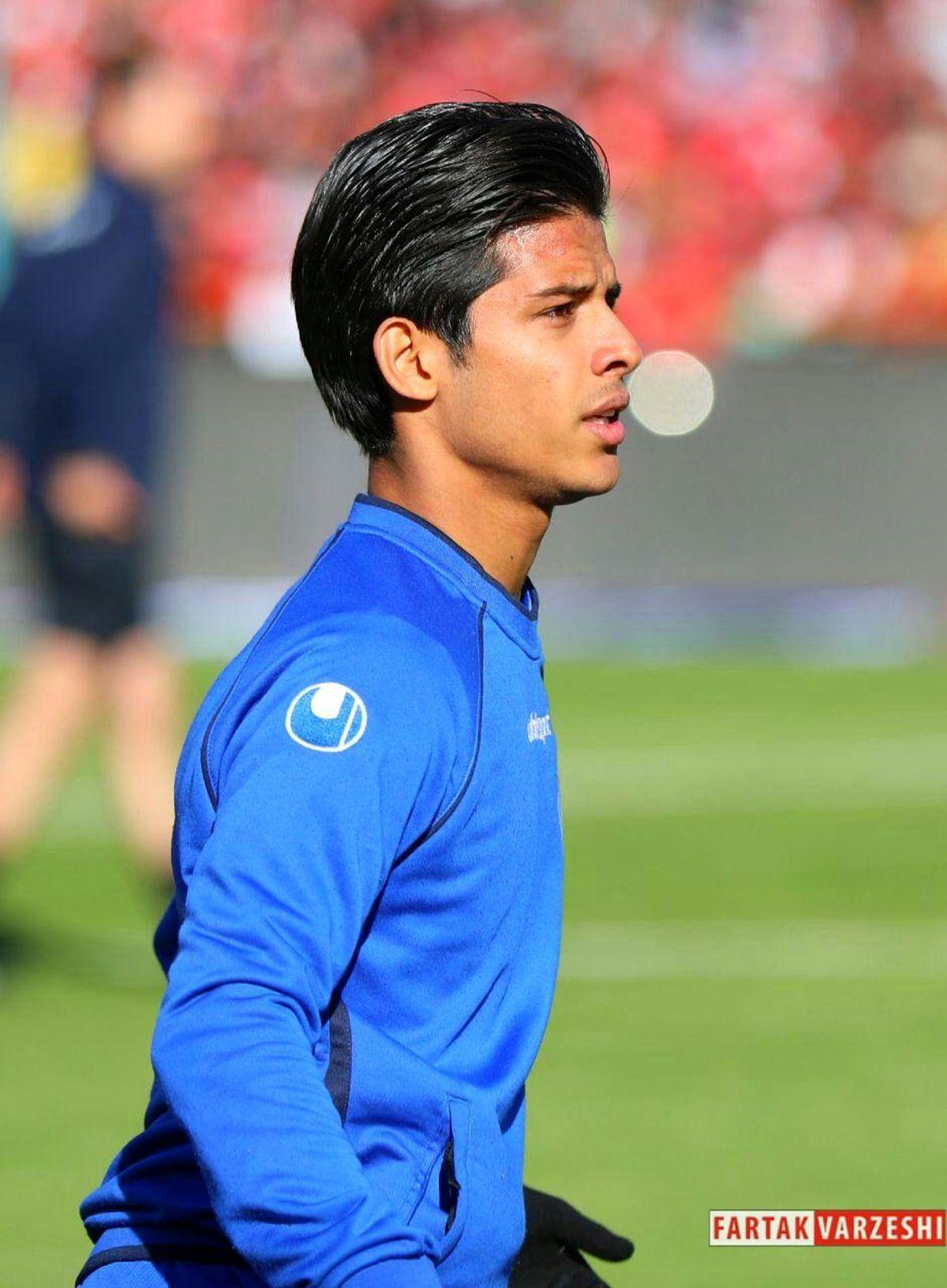 قائدی: امیدوارم سالهای زیادی پیراهن تیم ملی را بر تن کنم