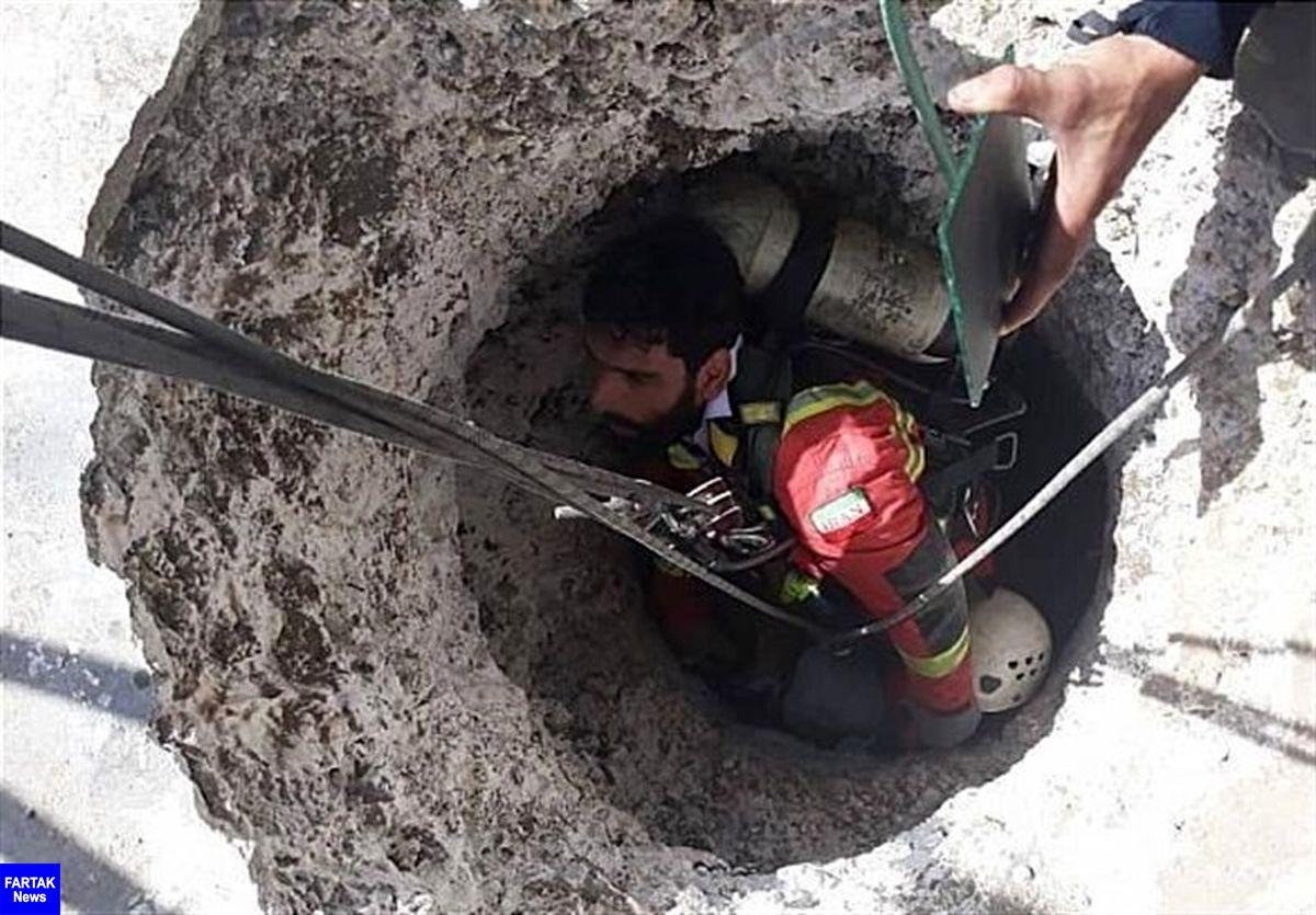 ریزش چاه جان کارگر 50 ساله را گرفت