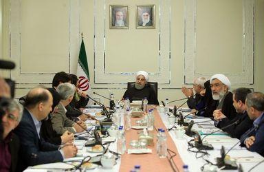 حواشی جلسه شورای عالی محیط زیست به ریاست روحانی + تصاویر
