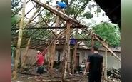 اشتباه کوچکی که به ریزش اسکلت یک خانه منجر شد + فیلم