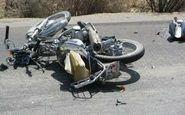 موتورسوار در پی تصادف با اتوبوس جان باخت