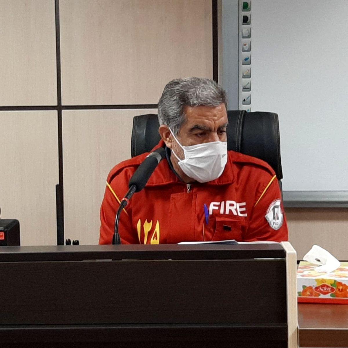 نجات جان و مال شهروندان مهم ترین وظیفه آتش نشانان است
