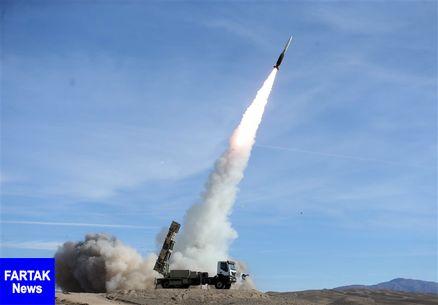 انهدام اهداف در ارتفاع بلند توسط سامانه موشکی تلاش