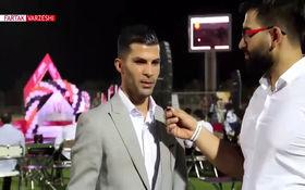محمد پور محمد بازیکن مس رفسنجان: از تمامی بچه های تیم تشکر میکنم