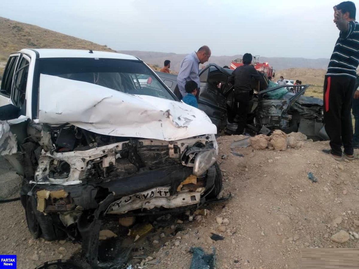 تصادف در محور خنج سه قربانی برجای گذاشت