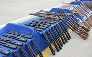 کشف 56 قبضه اسلحه توسط پلیس امنیت عمومی کرمانشاه
