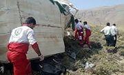 سقوط مرگبار مینیبوس مسافران به دره