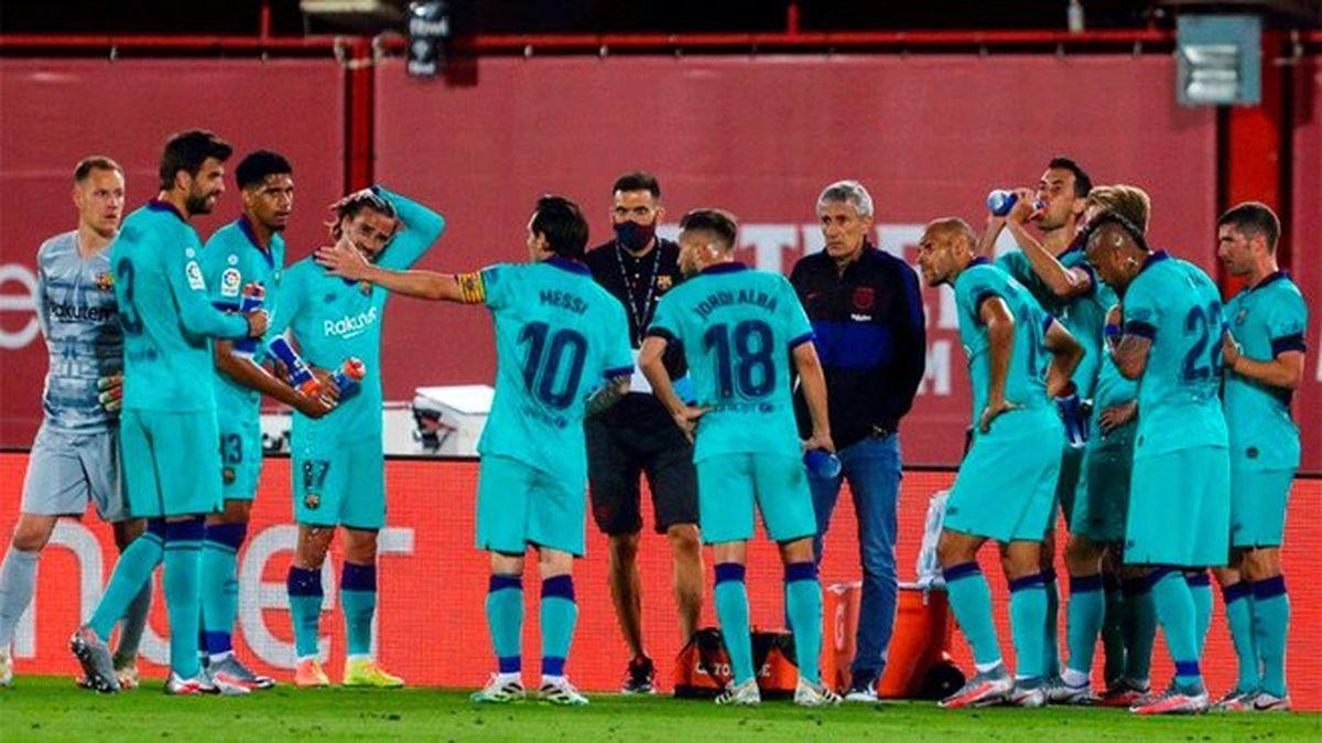 نقش لیونل مسی در ترکیب بارسلونا بیش از مهاجم گلزن
