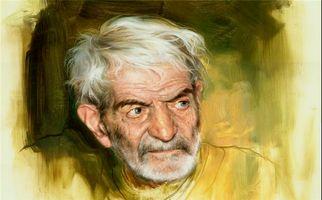ویدئویی از مراسم تشییع شهریار، شاعر پرآوازه ایرانی