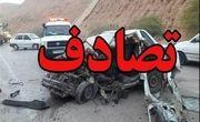 20 مصدوم در حادثه واژگونی مینیبوس در آزادراه قزوین- کرج