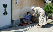 اقدام بسیار زیبا اهالی روستای مومن آباد شهرستان سرخه در روز عید غدیر
