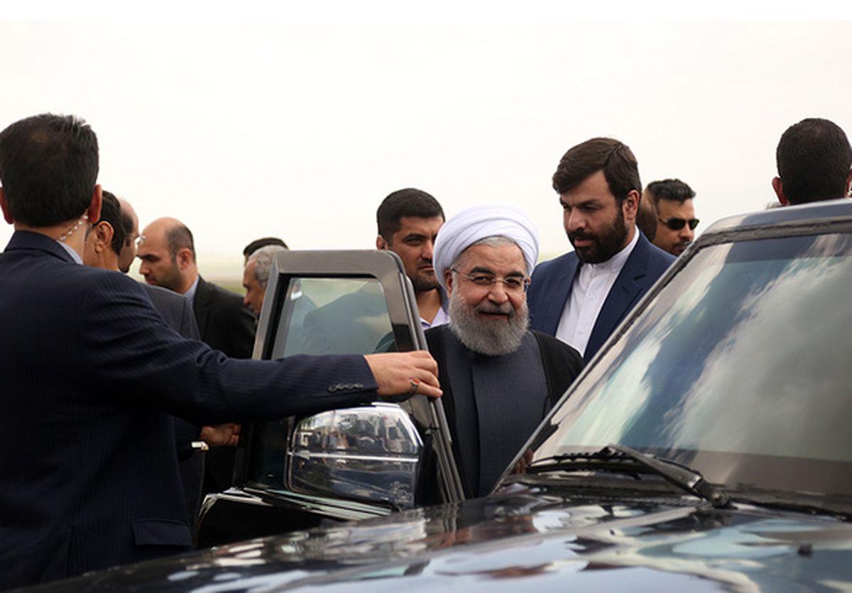 بازدید رییسجمهور از مناطق زلزله زده در استان کرمان