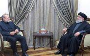 لاریجانی و نصرالله آخرین تحولات منطقه را بررسی کردند