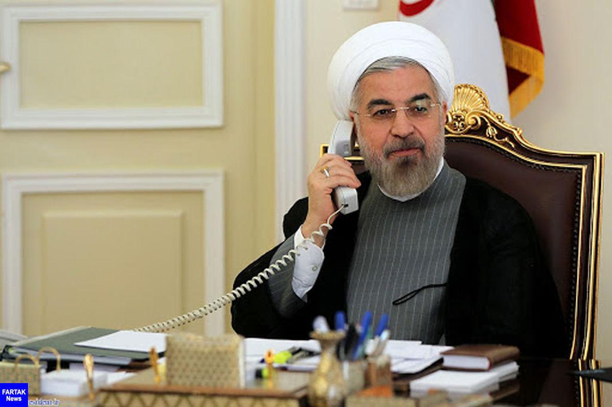 روحانی به محمداف: توسعه روابط و همکاریها با ترکمنستان برای ما حائز ا همیت است
