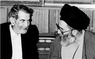 شعرخوانی آذری شهریار ایران در حضور رهبر انقلاب