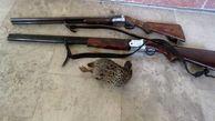 ۳ شکارچی متخلف در بیله سوار دستگیر شدند